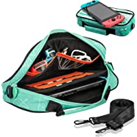 Carrying Case for Nintendo Switch - Travel Storage Bag for New Leaf Crossing Design Storage Console, Dock, Charging…