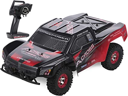Wltoys 50km//h RC Car 1//12 2.4G 4WD Off Road Rock Crawler Cross-country Truck USA