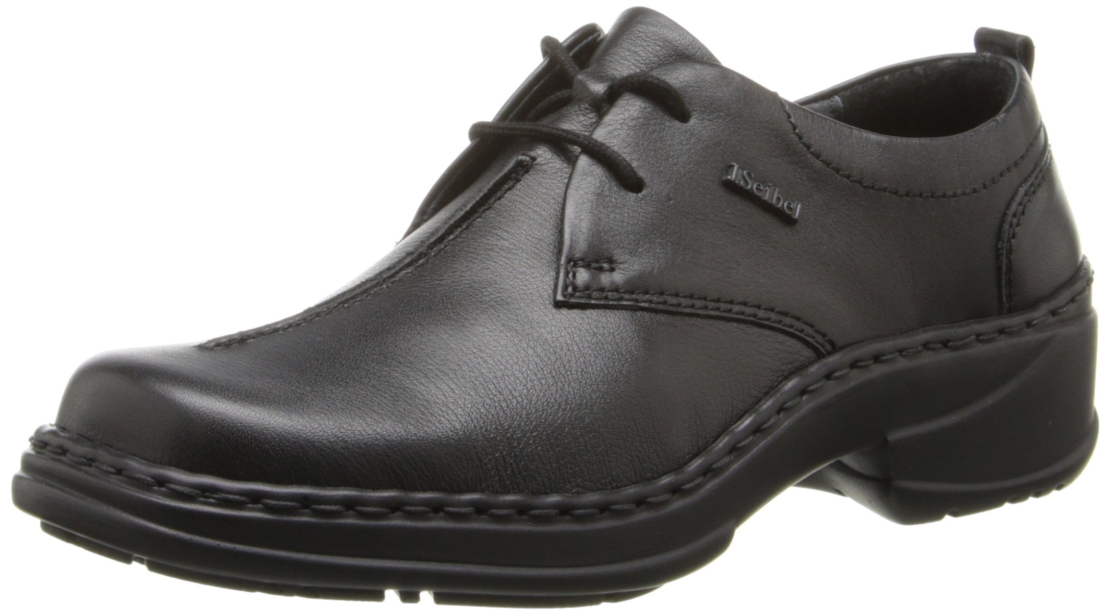 Josef Seibel Women's Trisha Oxford, Black Catania, 37 BR/6-7 M US