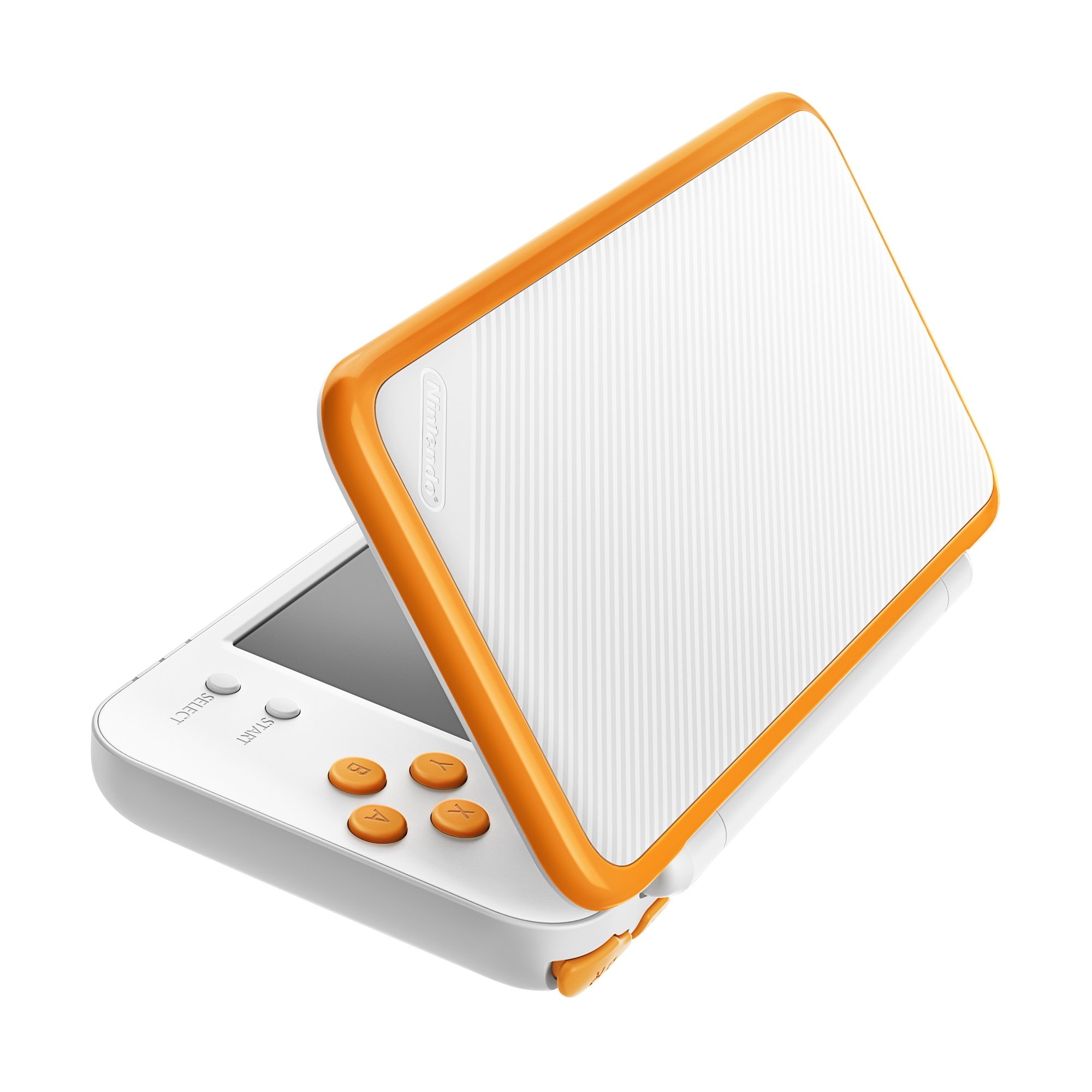 New Nintendo 2DS XL Handheld Game Console - Orange + White With Mario Kart 7 Pre-installed - Nintendo 2DS by Nintendo (Image #5)
