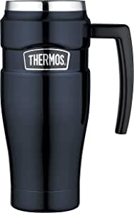 Thermos Stainless King Insulated Travel Mug, 470ml, Midnight Blue, SK1000MB4AUS
