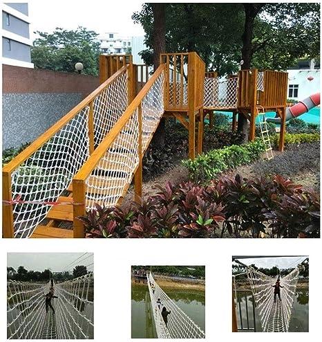 Decoración Anticaída Para Escalar Neto Cuerda Exterior Red Jardín Decoración Red Balcón Red De Seguridad Escaleras Niños Caída De Escalada Red De Guardería Red De Protección For Niños Disponible En Un: Amazon.es: