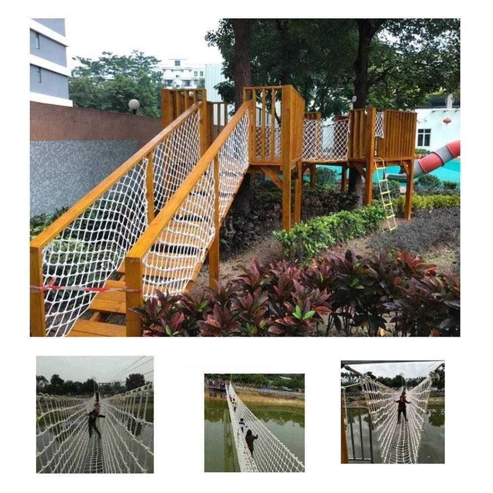 10cm engrener 28M RSH Corde Extérieure Net Décoration De Jardin Net Balcon Filet De Sécurité Escaliers Enfants Anti-Chute Grimpant Net Maternelle De Prougeection Net Disponible dans Une Variété De Tailles