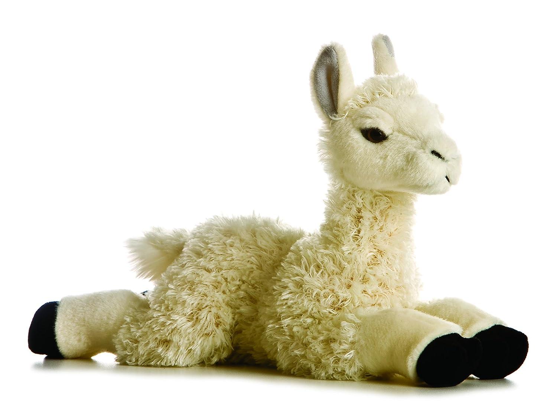 Aurora Llama 12-Inch Flopsie Stuffed Animal Aurora Plush 31155