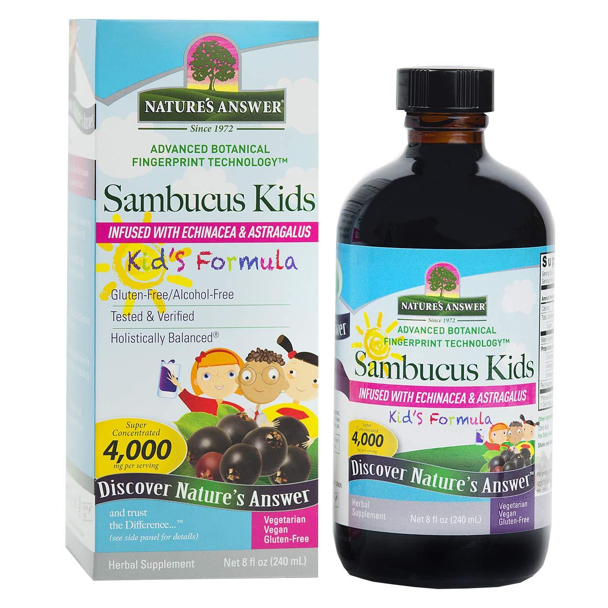 Natures Answer Sambucus Kid FRMULA 8OZ