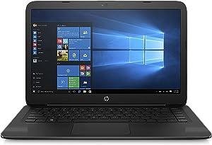 HP 14 Inch Stream Laptop, Intel Celeron N3060 Processor, 4GB RAM, 32GB eMMC, HDMI (Renewed)