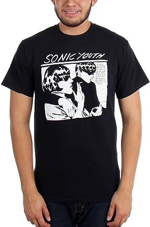 c41874fe Sonic Youth - Mens Black Goo T-Shirt: Amazon.co.uk: Clothing