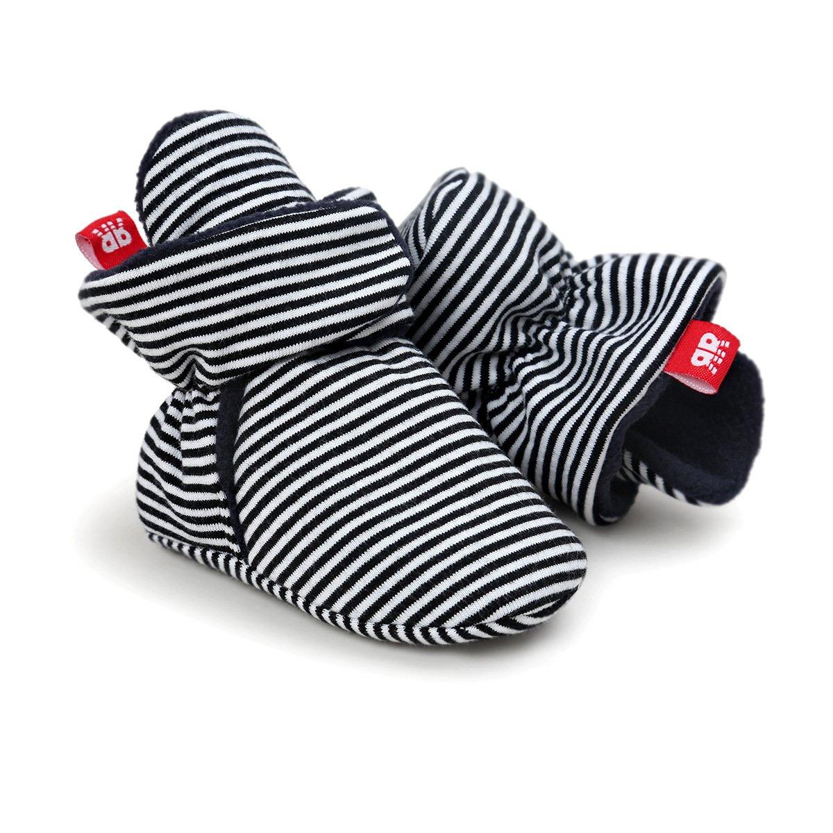 Adorel Baby Toddlers Fleece Booties Crib Shoes Winter