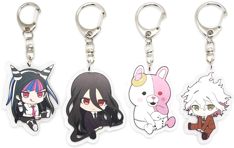 Danganronpa Nanami ChiaKi Key Chain Key Ring Pendant For Gift New Keychains