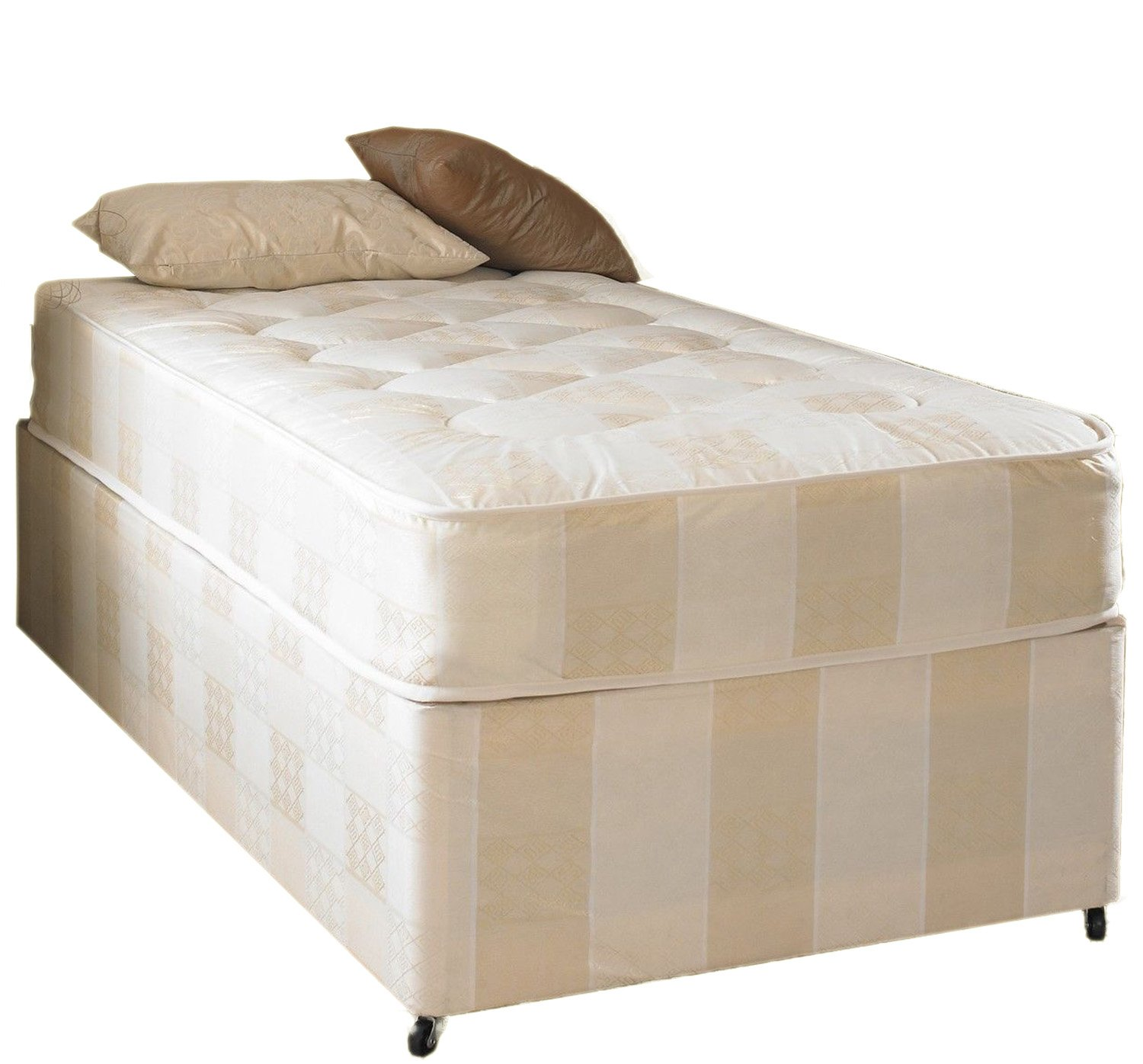 the latest ba9e0 05fcb Deep Quilt Divan Bed Including Deep Quilt Mattress (Available in 2'6 Small  Single - 3'0 Single - 3'6 Large Single - 4'0 Small Double - 4'6 Double - ...