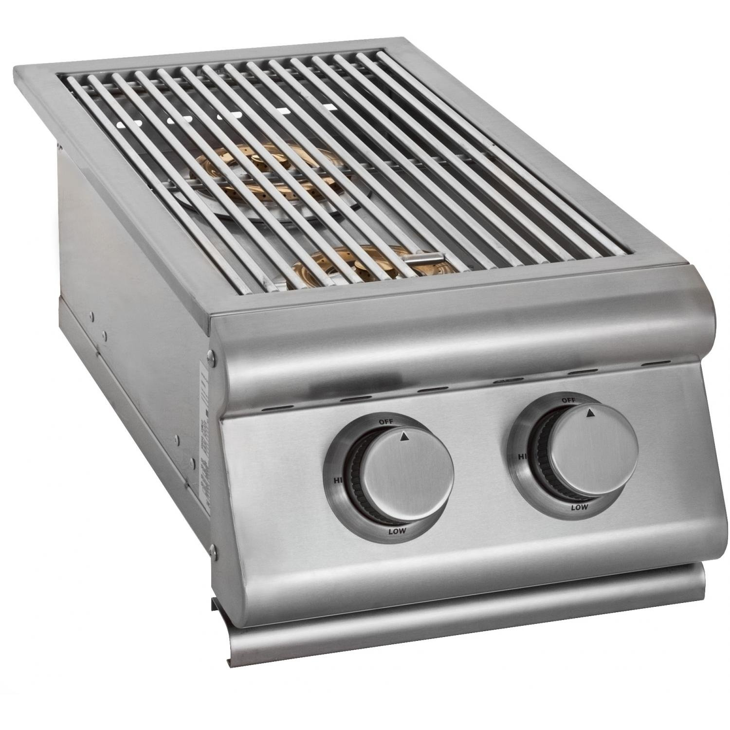 Slide-In Gas Double Side Burner Gas Type: Propane