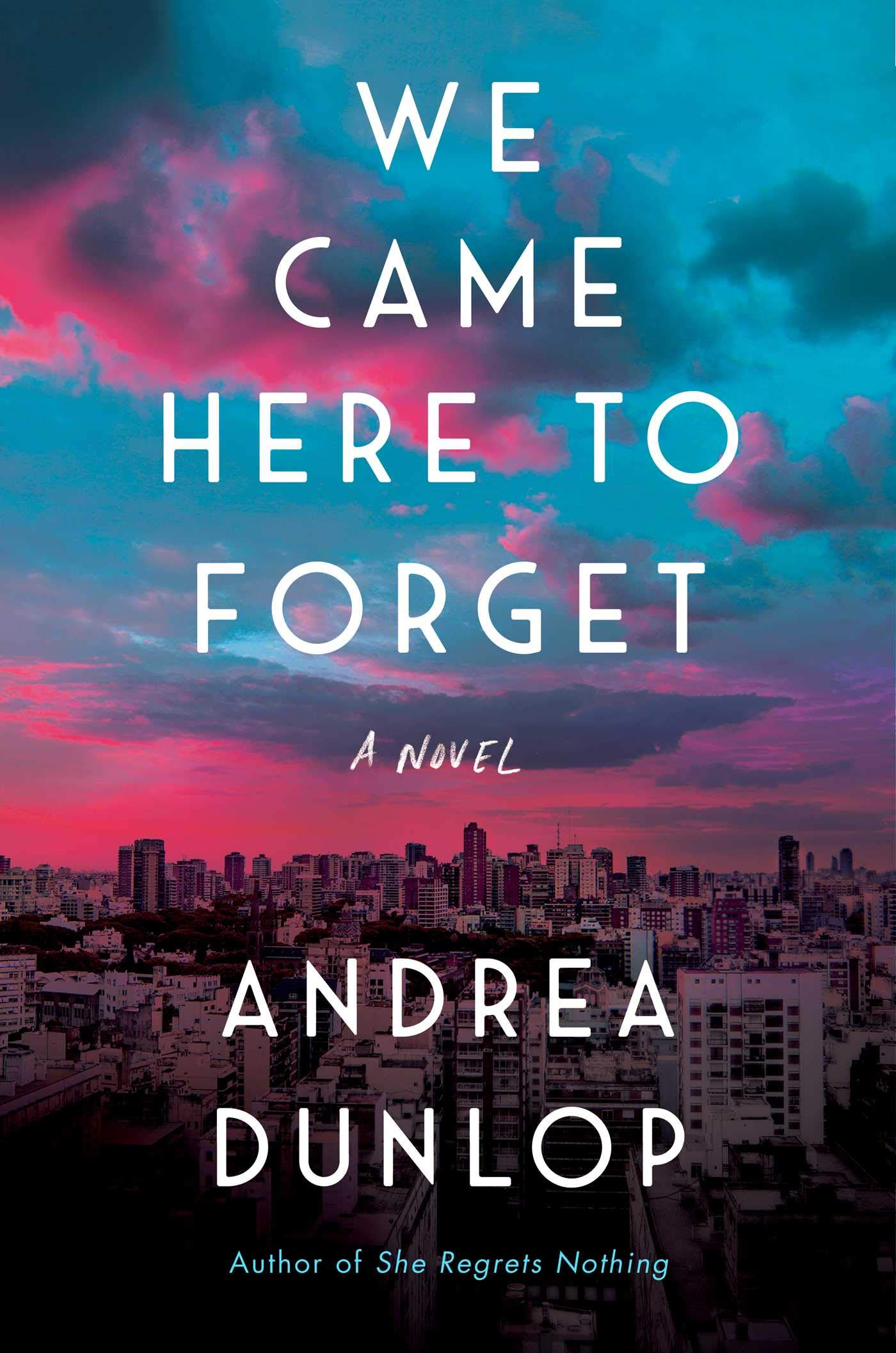 Image result for we came here to forget by andrea dunlop