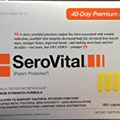Amazon Com Serovital Dietary Supplement 160 Health Personal Care