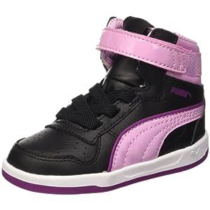 Puma V Liza Mid Dazz Inf Chaussures Noir/Pastel Lavender 8,5