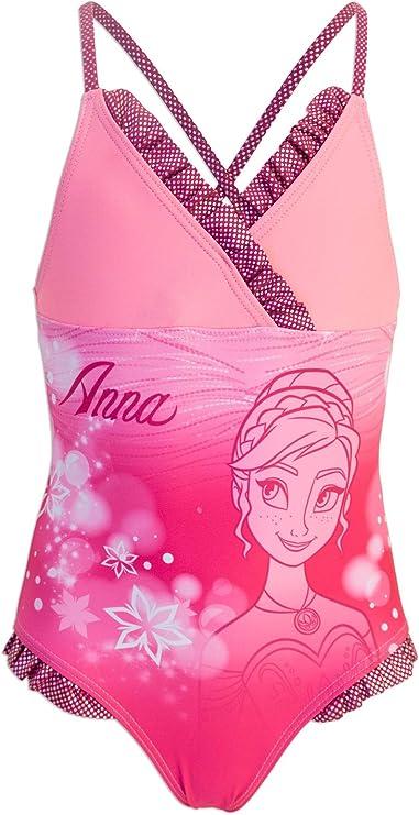 Disney Frozen 2 Costume Slip Monokini 1 Pezzo Mare Piscina Bambina Prodotto Originale con Licenza Ufficiale