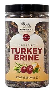 Rodelle Turkey Brine Gourmet Spice Blend Net Wt (25 Oz),, ()