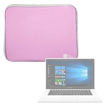 DURAGADGET Funda De Neopreno Rosa para Portátil Chuwi LapBook Air/InnJoo LeapBook A100: Amazon.es: Electrónica