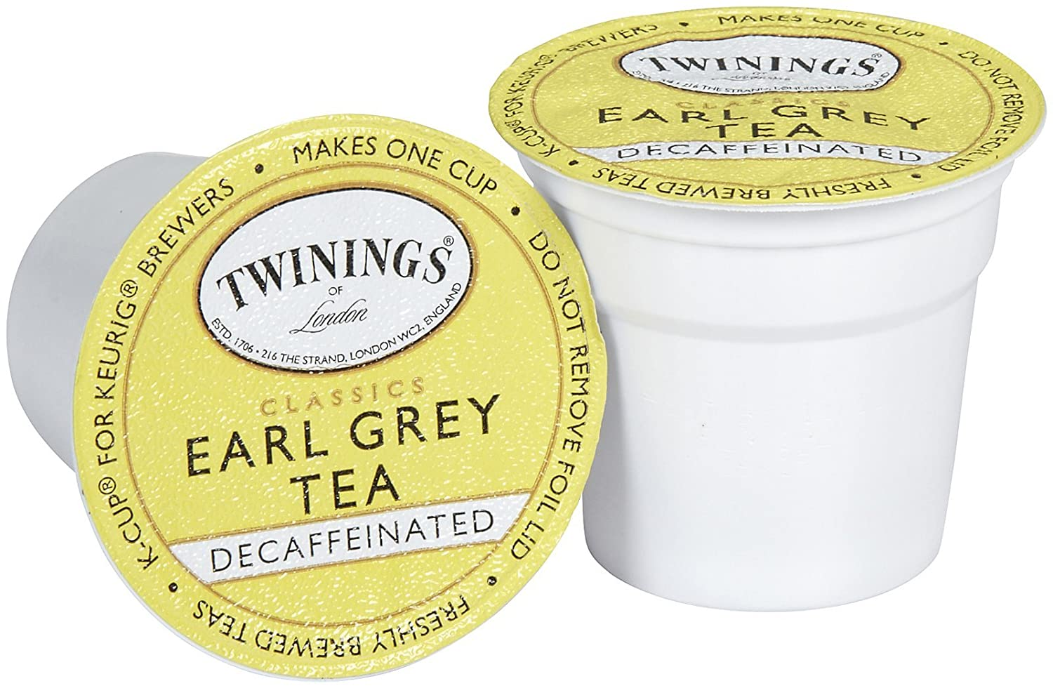 Twinings Earl Grey Decaf K Cup, 96-Count F08770