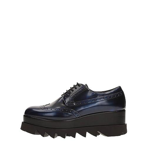 Cult B6942 Scarpa Inglese Donna Alice Low Scarpe Vernice Blu Shoe Woman   40   Amazon.it  Scarpe e borse 85ab26716b6