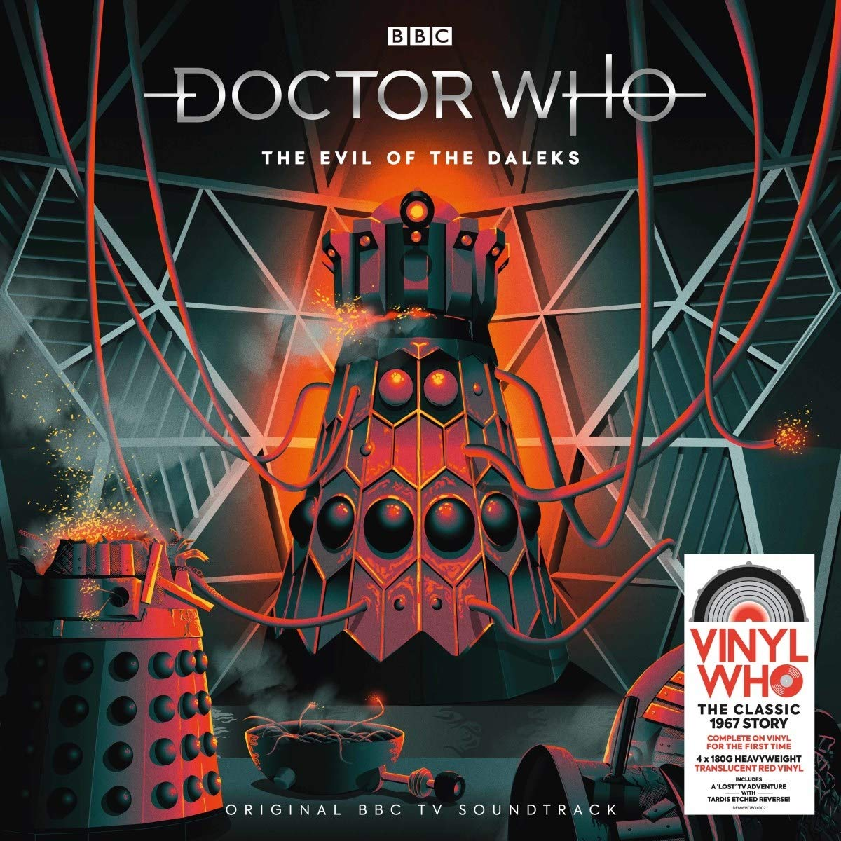 Evil Of The Daleks (Original Soundtrack) by Demon Records