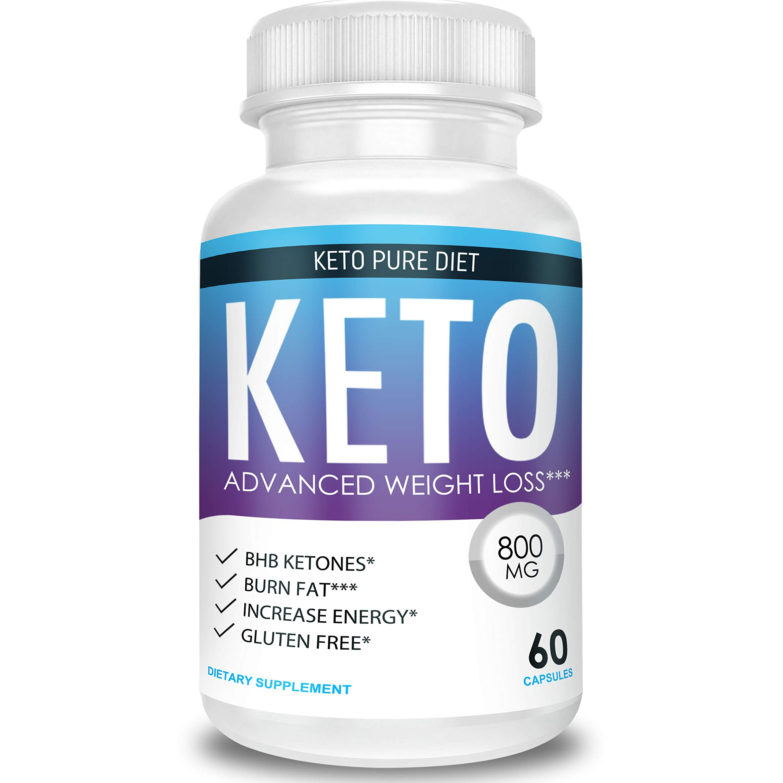 Keto Pure Diet - Advanced Weight Loss - Ketosis Supplement by Keto Pure Diet