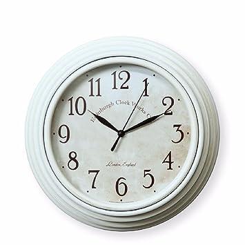 lqxzm-antique hacer el viejo reloj de pared sala de estar, dormitorio de moda británico para colgar cuadro, Europa y los Estados Unidos estudio redondo ...
