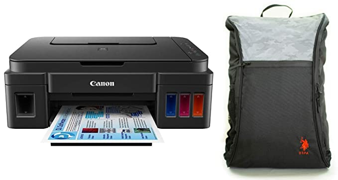 Canon Pixma G3000 All in One Wireless Ink Tank Colour Printer with Free Bag Ink Tank Printers
