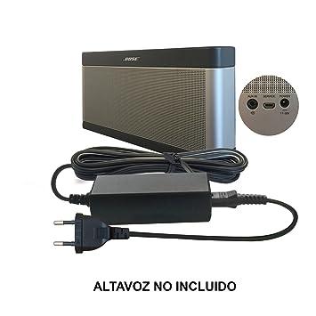Reemplazo del Cable de Bose 17V-20V / 17-20 Volt Batería Cargador/Adaptador Fuente de alimentación para SoundLink I, II, III, 1, 2, 3 Wireless Mobile ...