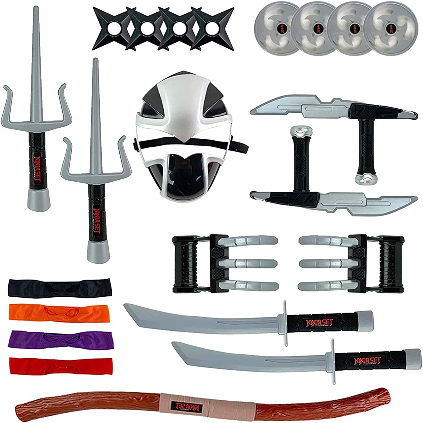 Dr.Wu DW-P31P Ninjia Swords Kits for SIXSHOT In stock Toy Accessories