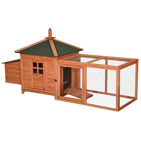 Amazon.com: Lovupet 4350 - Caseta de madera impermeable para ...