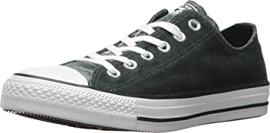 Personas con discapacidad auditiva uvas Clancy  Amazon.com | Converse Chuck Taylorr All Starr Velvet Ox Deep  Emerald/White/White Women's Classic Shoes (7 D(M) US) | Fashion Sneakers