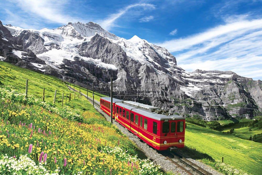 tienda de venta Spectacular Jungfrau railway 76-005 of of of 2542 súper small piece súper impressed master EX test oro puzzle (japan import) by Epoch  ventas en linea