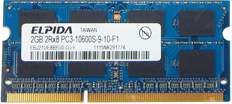 Elpida 2GB DDR3 PC3-10600 SDRAM SO-DIMM Memory by .Elpida. (Image #1)