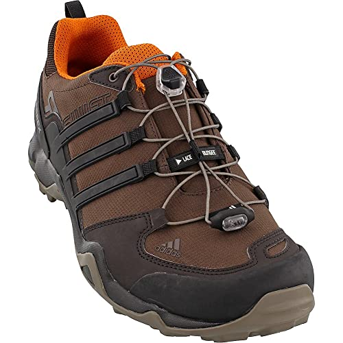 big sale e4228 e38a3 Adidas all aperto Terrex Swift R escursioni con le racchette - Nero    Grigio vista   bianco 6  Amazon.it  Scarpe e borse