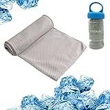 Cool Sinokal Chilly asciugamani in microfibra Instant Cooling Relief Stay Cool per golf baseball fitness e yoga esercizio sport campeggio escursionismo atleti uomini bambini collo testa