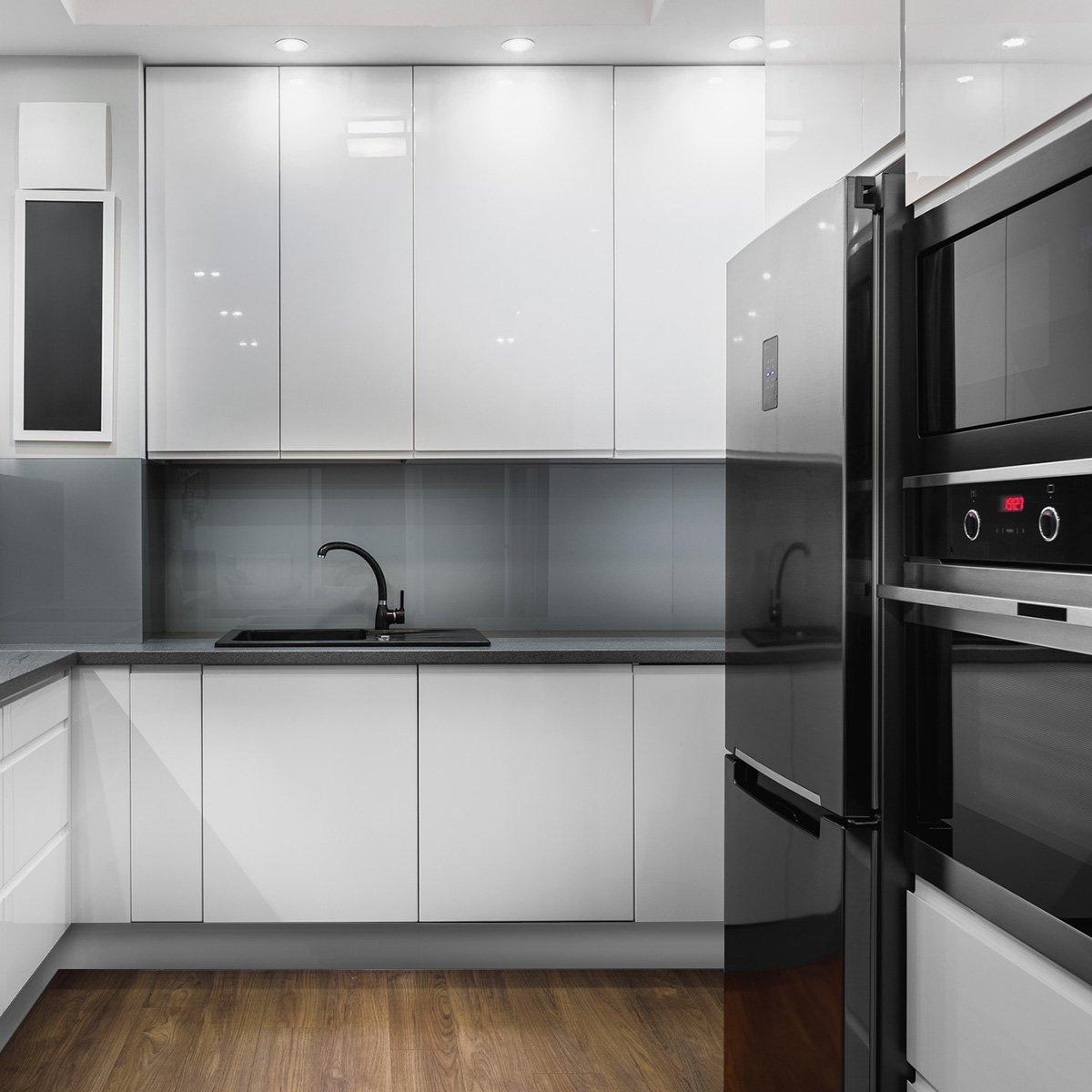HOLZBRINK Zócalo para Cocina de Módulos, 150 cm Altura 100mm ...