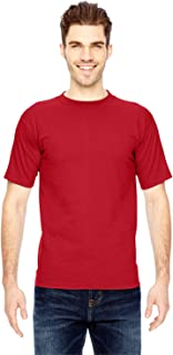product image for Bayside Men's American Made Cotton Basic T-Shirt, RED, Small