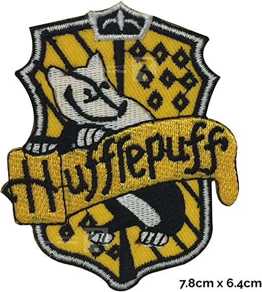 Harry Potter Hufflepuff Casa Nueva coser o hierro EN Parche ...