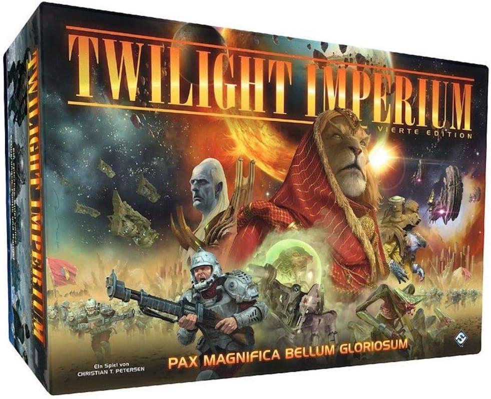Fantasy Flight Games Twilight Imperium 4 Edition - Juego de mesa (contenido en alemán): Amazon.es: Juguetes y juegos