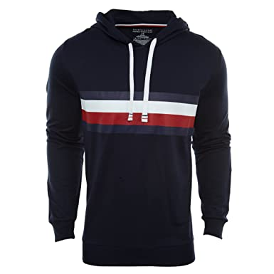 Tommy Hilfiger Men s Modern Essentials French Terry Pullover Hoodie ... 23a9ec46a5