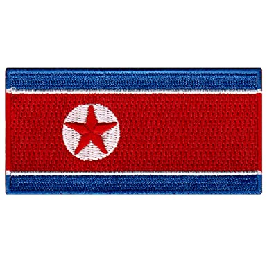South Korea National Flag Iron on Patches Embroidered Applique Badge Emblem