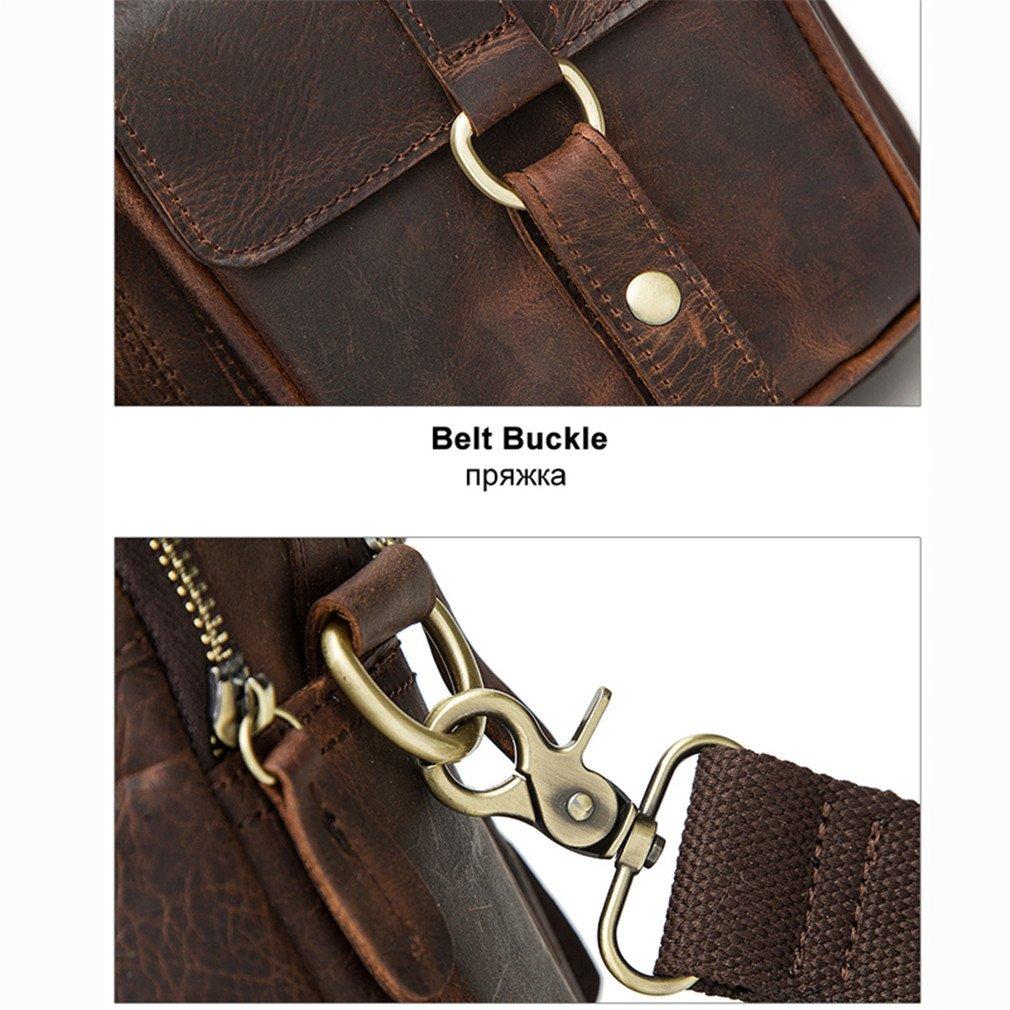 Leather Men Bag Business Briefcase Messenger Handbags Men Crossbody Bags Mens Travel Laptop Bag Shoulder Tote Bags