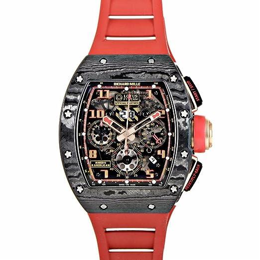 Richard Mille automatic-self-wind Negro Reloj para hombre rm011 AO CA (Certificado