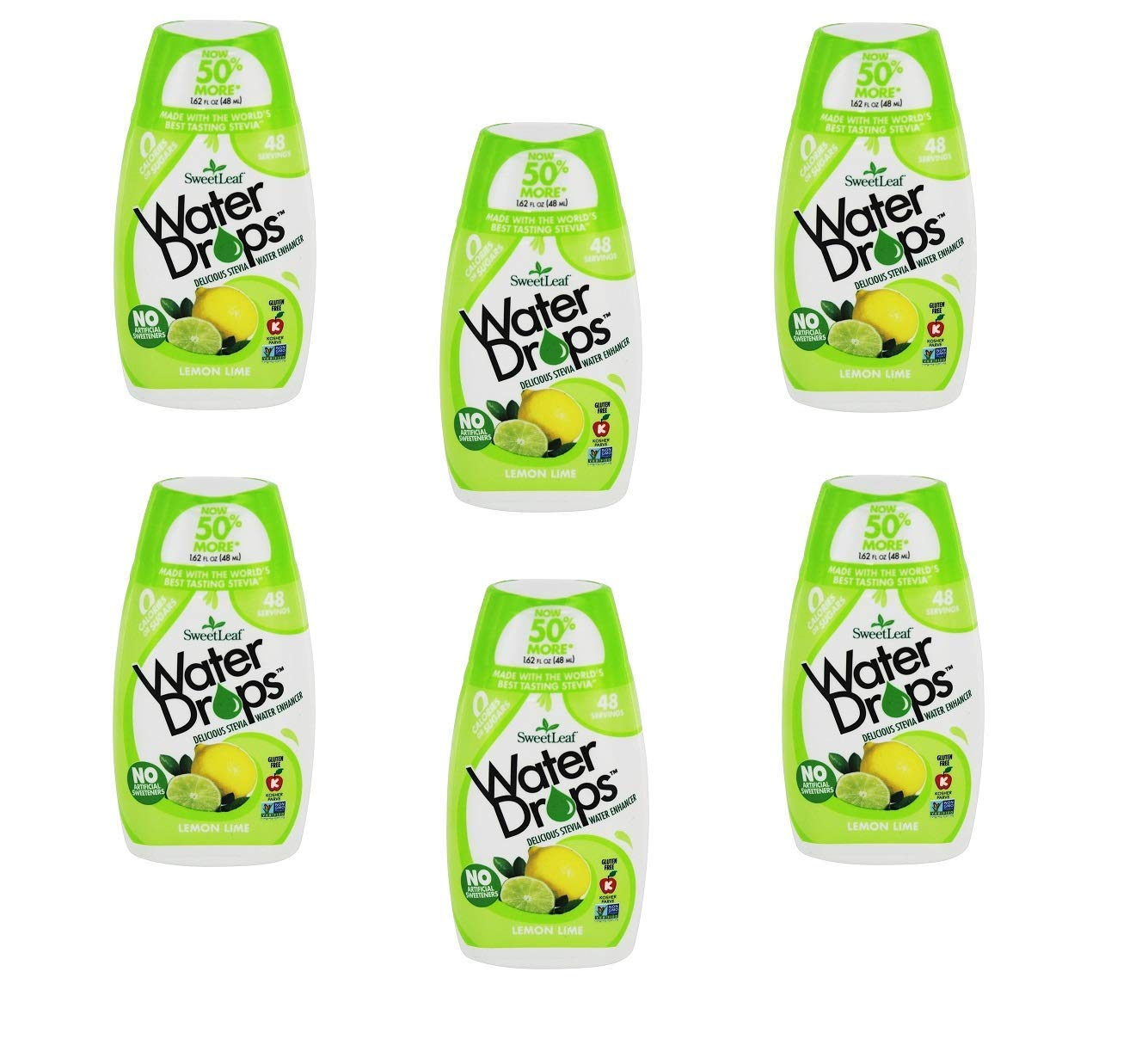 Sweetleaf Water Drop 6 Pack Lemon Lime
