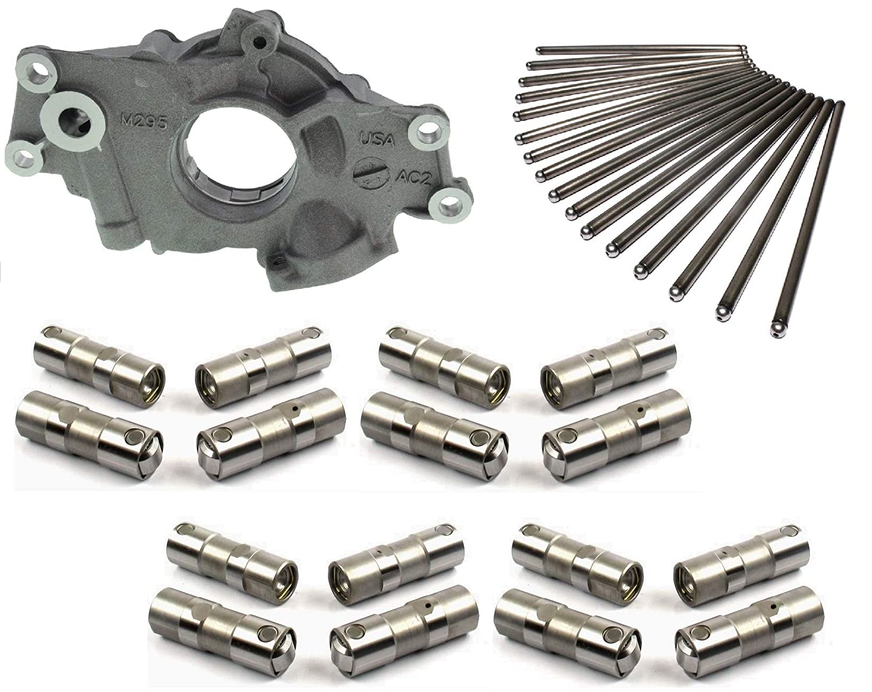 Replacement Melling Oil Pump Elgin Push Rods & Lifters for 1997-2012 Vortec Gm Chevrolet 4.8L 5.3L 6.0L Gen 3 Gen 4 Elgin Industries Melling