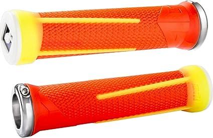 ODI Ag1 Lock-on Grips Aaron Gwin 135mm Blue//light Blue for sale online