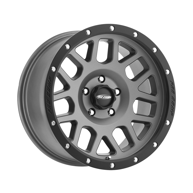 Pro Comp Alloys Series 40 Vertigo Dark Gray Wheel with Black Lip (18x9'/5x5') Pro Comp Wheels PXA2640-897350