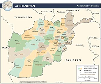 Afghanistan Topographical Map | Institute for the Study of War