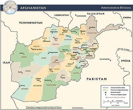 Image result for Afghanistan Division Map