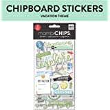 me & my BIG ideas Chipboard Value Pack, Vacation